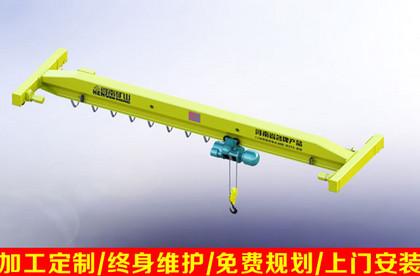 LDA电动单梁起重机 单梁行车 LDA电动单梁行车