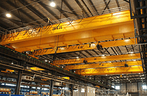 25吨 欧式双梁起重机 加工定制吨位 50吨行车等