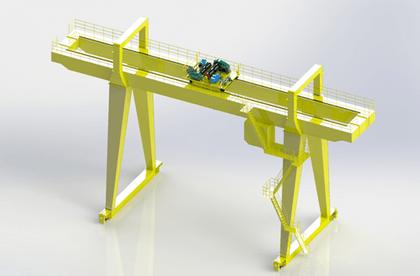 A型5~160吨双梁吊钩门式起重机 A型吊钩门式起重机 吊钩龙门吊 A型龙门吊