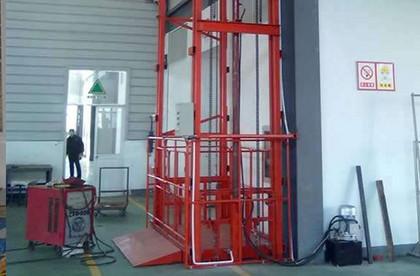 链条导轨式升降机|液压货梯|液压升降机|升降货梯