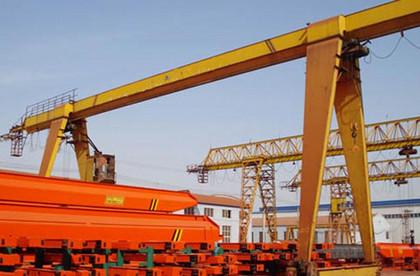豫正MH型5~20吨电动葫芦门式起重机(箱型式) 20吨龙门吊价格
