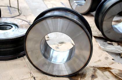 行车轮 行车大车轮 300行车轮 锻打角箱行车轮多少钱 生产厂家