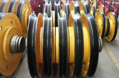 起重机滑轮组(铸铁轮、铸钢轮、轧制轮)价格 , 生产厂家直销