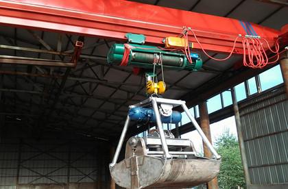 抓斗电动单梁起重机价格 抓斗电动单梁起重机生产厂家
