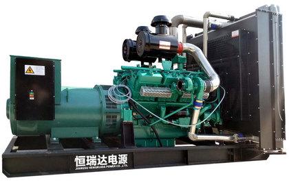乾能柴油发电机组 调压精度 动态性能好 结构紧凑 外形美观