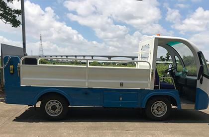 洁西卡8桶垃圾清运车