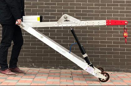 便携式起重机,小型轻巧式钩机吊机价格