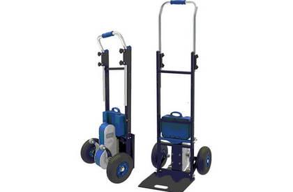 厂家直销 电动爬楼车爬楼机 载物上楼梯车手推搬运车搬家工具