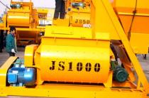 JS1000混凝土搅拌机生产厂家,1方搅拌机价格,1方混凝土搅拌机多少钱