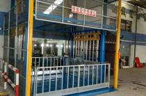 厂家直销 定制导轨固定式升降平台 简易导轨式厂房货梯